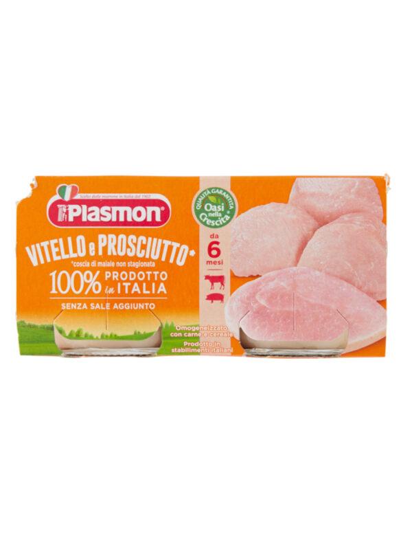 Plasmon - Omogeneizzato Vitello - Prosciutto - 2x80g - Plasmon - Omogeneizzato carne
