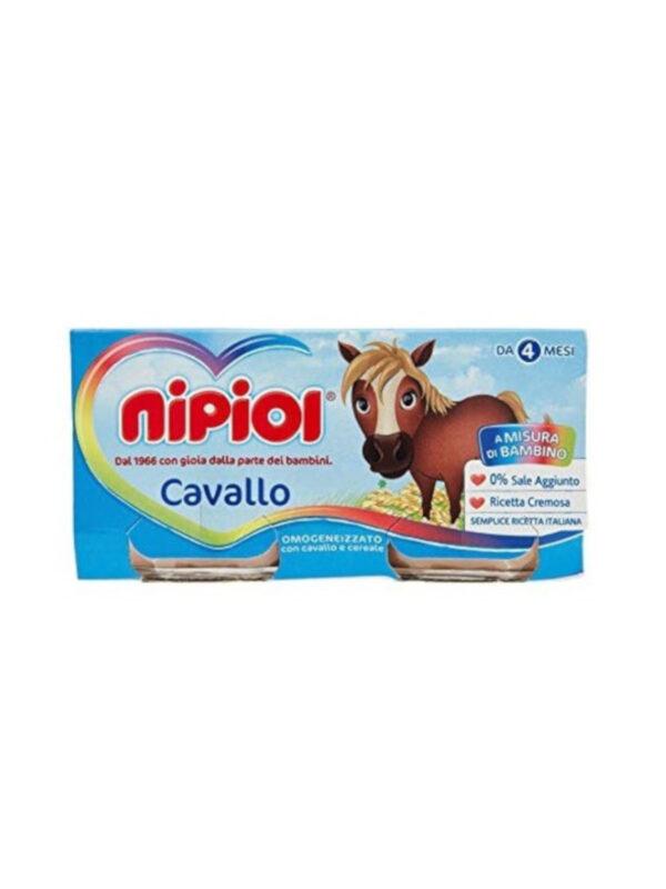Nipiol - Omogeneizzato Cavallo - 4x80g - Nipiol - Omogeneizzato carne