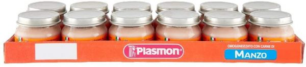 Plasmon - Omo Manzo 12X80g - Plasmon - Omogeneizzato carne