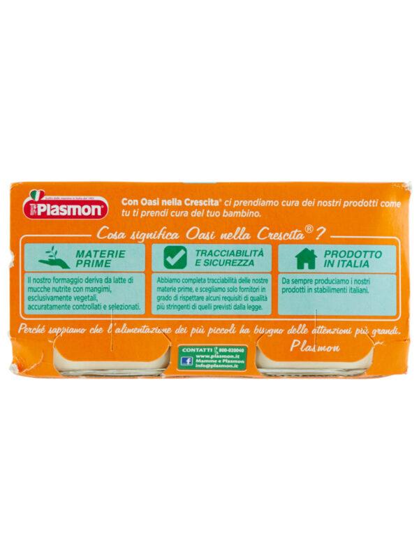 Plasmon - Omo Formaggino Mozzarella - 2x80g - Plasmon - Omogeneizzato formaggio