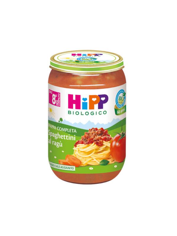 Pappa pronta Spaghettini al ragù 220g - HiPP - Pappe complete