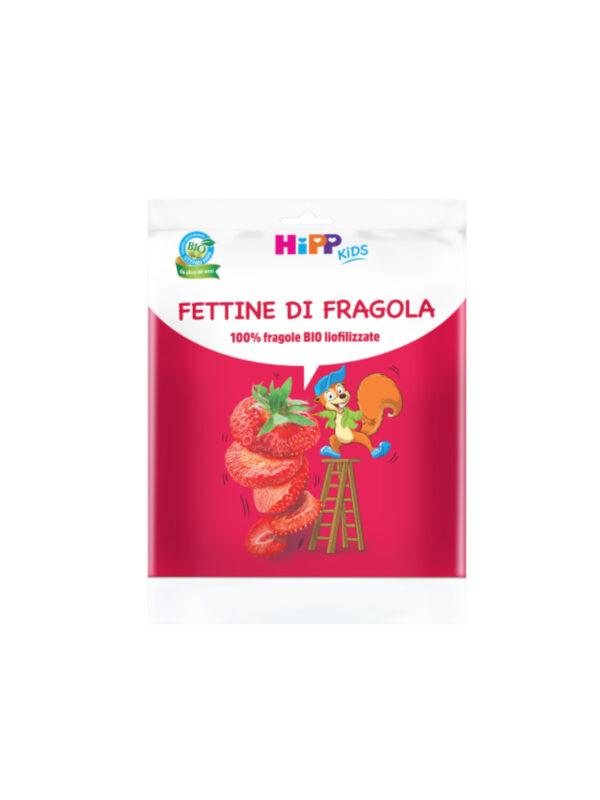 Fettine di Fragola 10g - HiPP - Snack per bambini