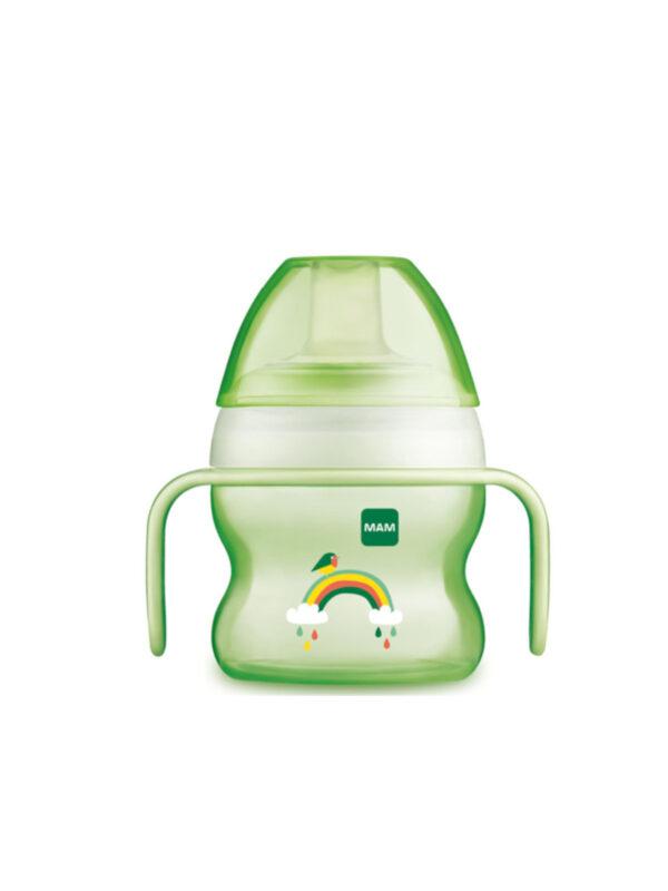 Starter Cup 150 ml con manici extrasoft neutro - MAM