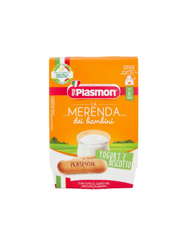 Plasmon - Sapori di Natura yogurt - biscotto - 2x120g - Plasmon - Yogurt e budini per bambini
