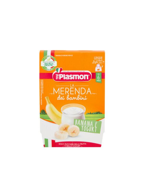Plasmon - Sapori di Natura banana- yogurt - 2x120g - Plasmon - Yogurt e budini per bambini