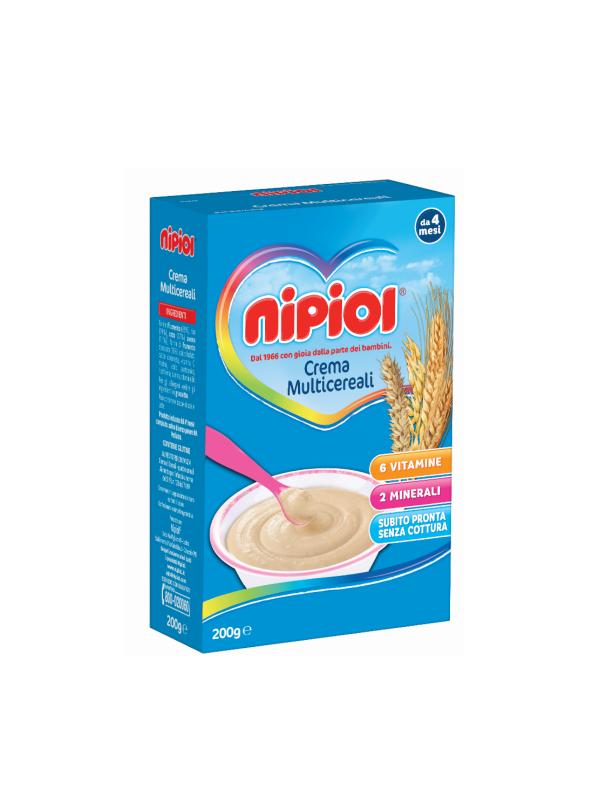 Nipiol - Cereali Crema Multicereali - 200g - Nipiol - Creme e Pappe Lattee