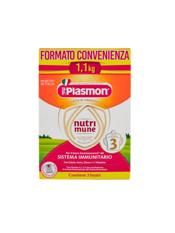 Plasmon Nutri-mune 3 Latte in Polvere Stage 3 - 1100g - Plasmon - Latte crescita 3-4-5