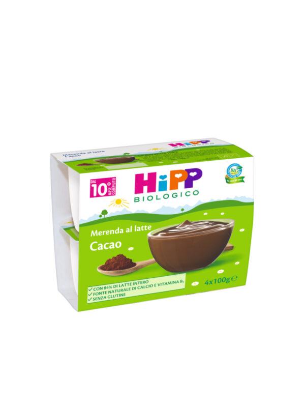 Merenda al Latte Cacao 4x100g - HiPP - MERENDE PER BAMBINI