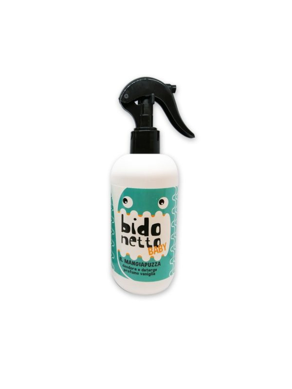 Profumo Bidonetto Baby vaniglia 300 ml - BIDONETTO - Mangiapannolini