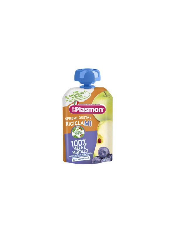 Plasmon - Spremi e Gusta Mela - Mirtillo - 100g - Plasmon - Merende da bere