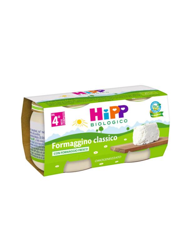 Omogeneizzato Formaggino classico 2x80g - HiPP - Omogeneizzato formaggio