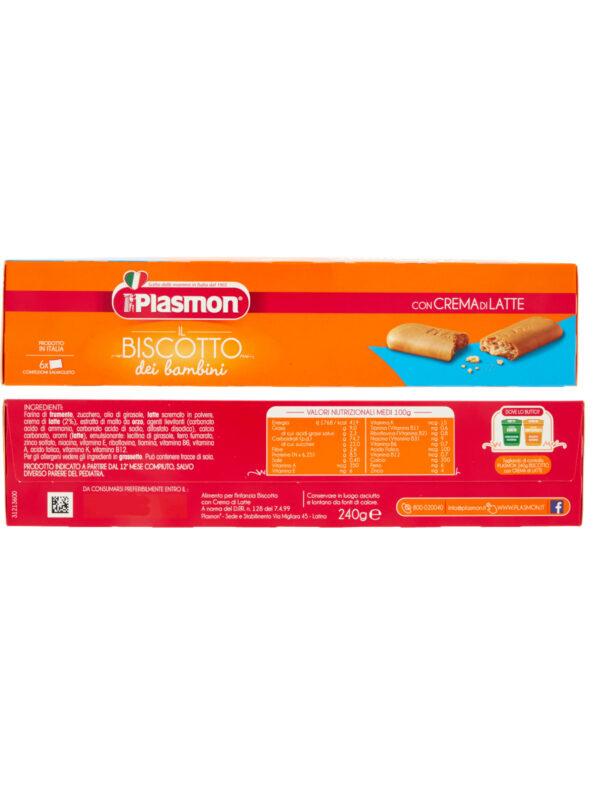 Plasmon - Biscotto Plasmon Crema latte 240gr - Plasmon - Biscotti per bambini