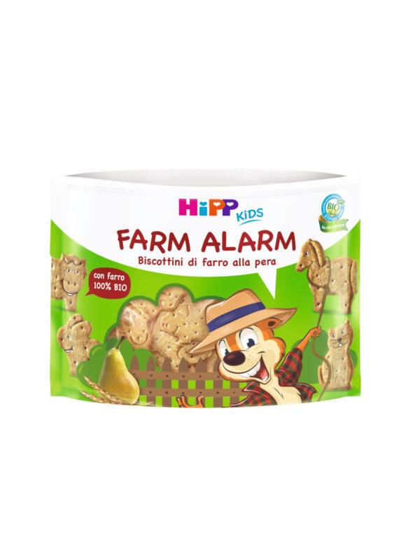 Farm Alarm - biscottini di farro alla pera (KIDS) 45 gr - HiPP - Biscotti per bambini