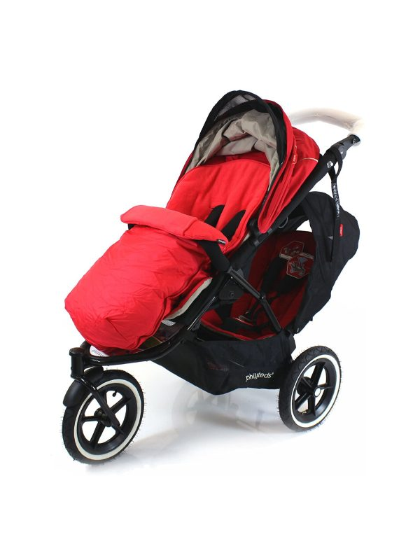 Coprigambe passeggino tecno rosso - REAL BABY - Accessori passeggini