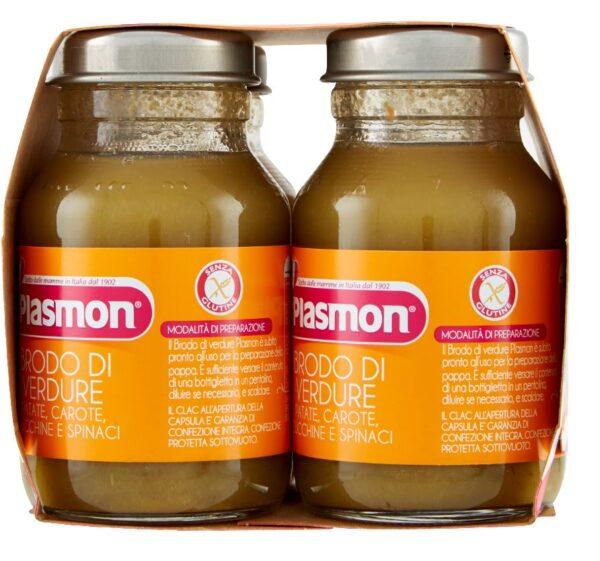 Plasmon - Brodo Verdure Liquido - 4x125ml - Plasmon - Brodi e passati per bambini