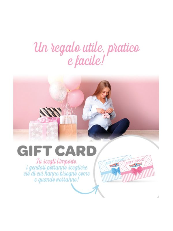 <strong>GIFT CARD A IMPORTO VARIABILE</strong>