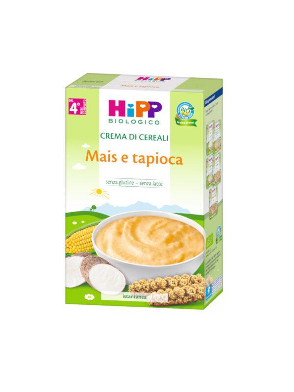 Crema di cereali Mais e tapioca 200g - HiPP - Creme e Pappe Lattee