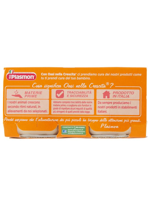 Plasmon - Omogeneizzato Manzo - Pollo - 2x80g - Plasmon - Omogeneizzato carne