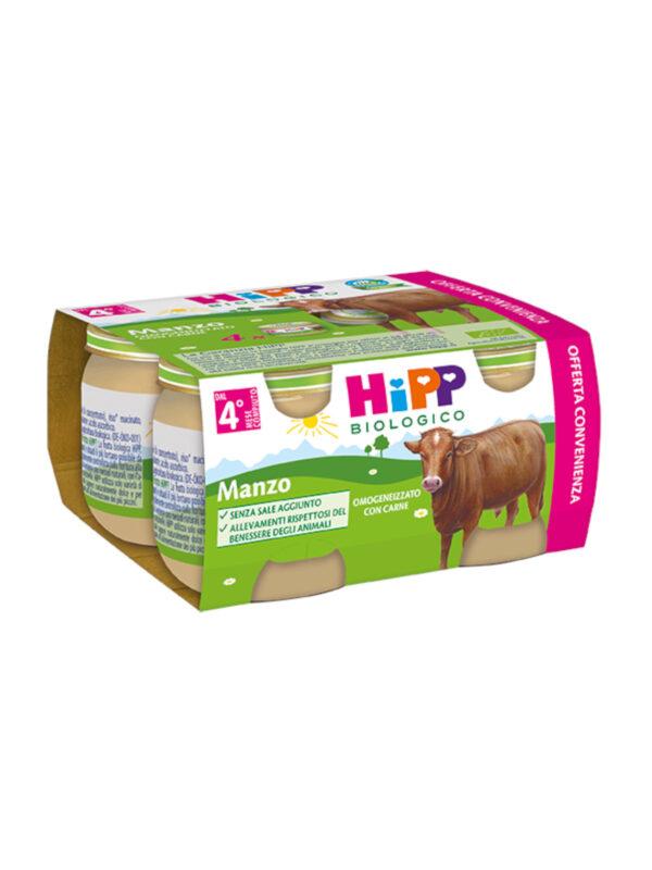 Omogeneizzato Manzo 4x80g - HiPP - Omogeneizzato carne