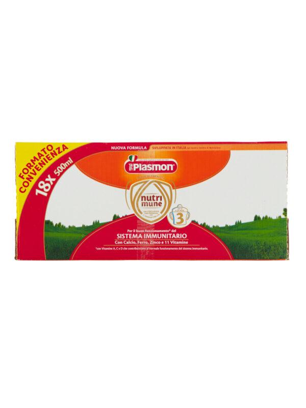 Plasmon - Latte Stage 3 Liquido - 18x500ml - Plasmon - Latte crescita 3-4-5