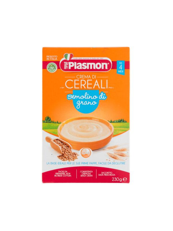 Plasmon - Cereali - Semolino di Grano 2x230g - Plasmon - Creme e Pappe Lattee