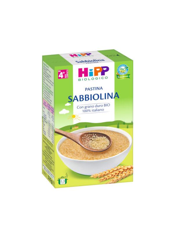 Pastina Sabbiolina 320g - HiPP - Pastine per bambini