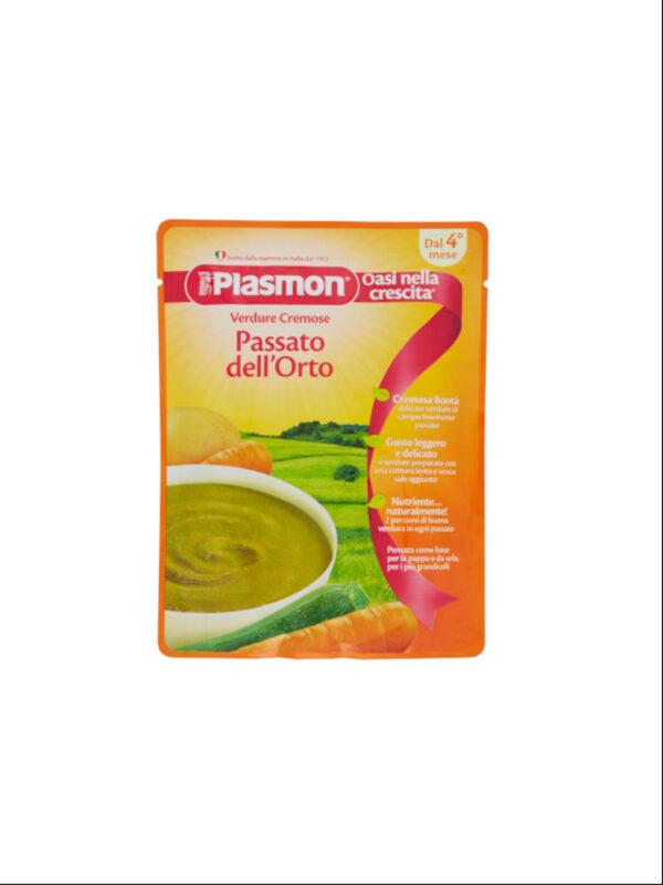 Plasmon - Pouches Base Passato Verdure Miste  - 180g - Plasmon - Brodi e passati per bambini