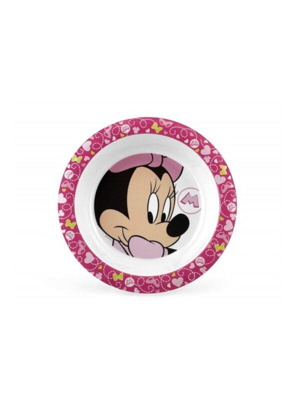 Piatto fondo 21 cm  Disney Minnie - DISNEY - Piatti e Set Pappa