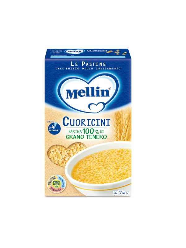 MELLIN Pastina cuoricini 320 gr - MELLIN - Pastine per bambini