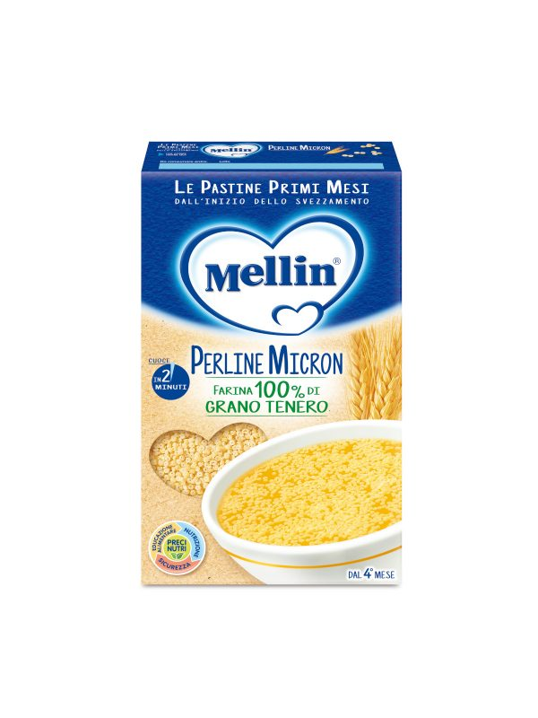 MELLIN Pastina perline micron 320 gr - MELLIN - Pastine per bambini