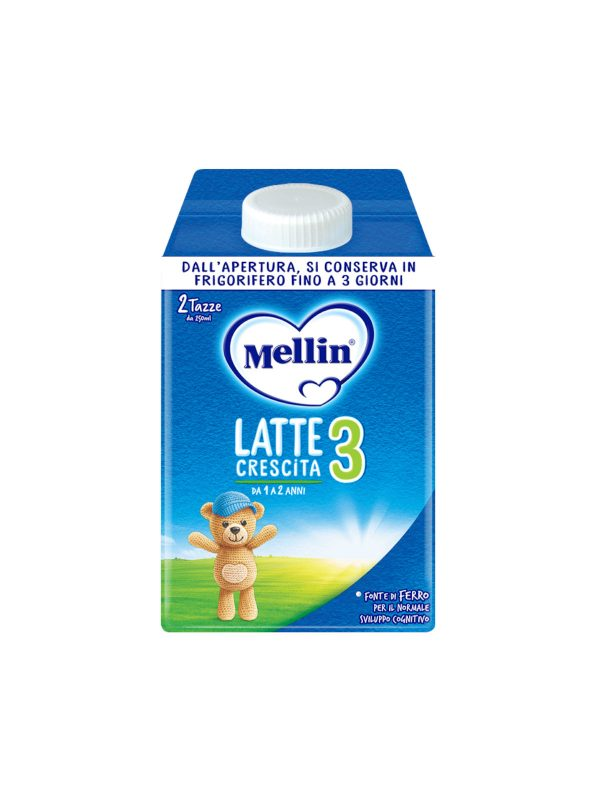 MELLIN - Mellin crescita 3 500 ml - MELLIN - Latte crescita 3-4-5