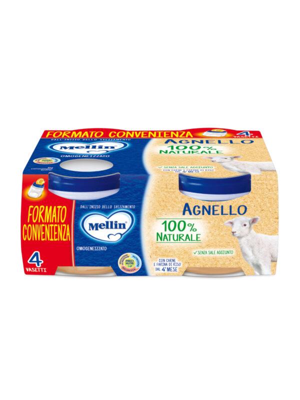 MELLIN - Omogeneizzato agnello 4x80 gr - MELLIN - Omogeneizzato carne