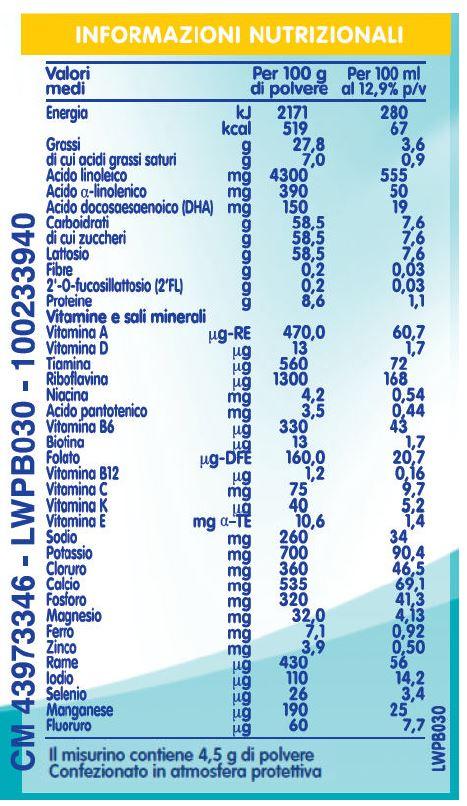 NESTLE' - Nidina 2 L.Reuteri 800G - NESTLE' - Latte 2