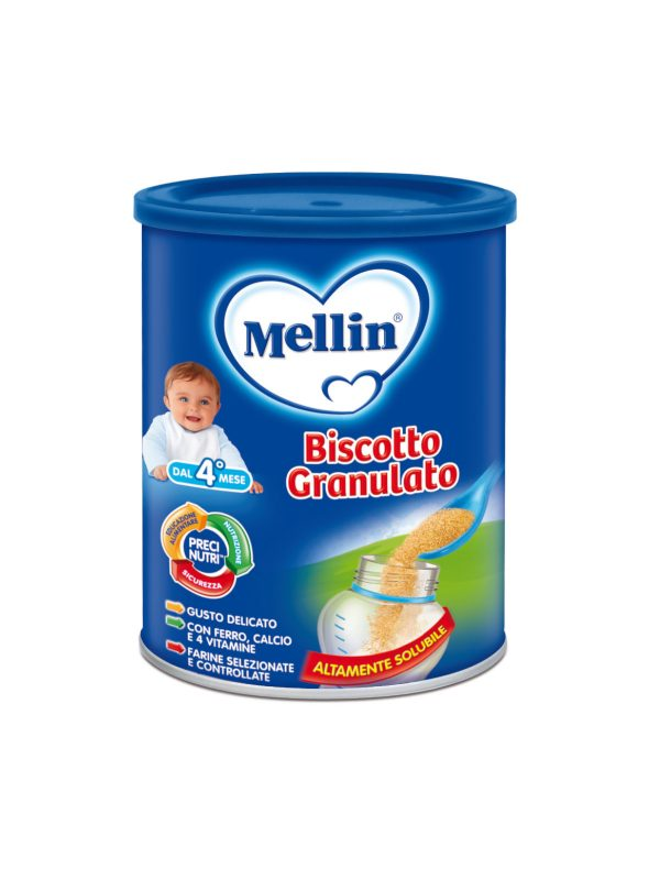 MELLIN Biscotto granulato O/S 400 gr - MELLIN - Biscotti per bambini