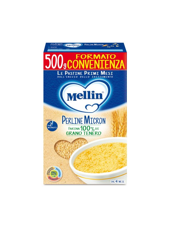 MELLIN - Pastina perline micron 500 gr - MELLIN - Pastine per bambini