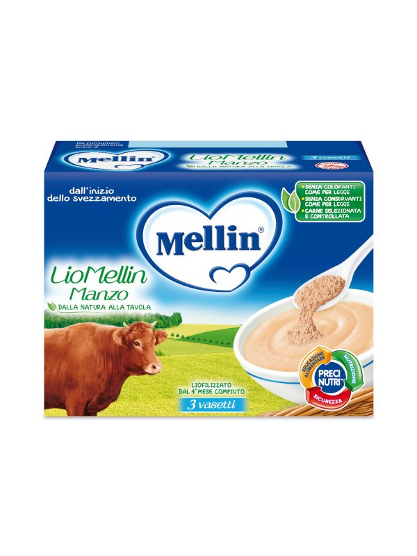 MELLIN Liofilizzato manzo 3x10 gr - MELLIN - Liofilizzati