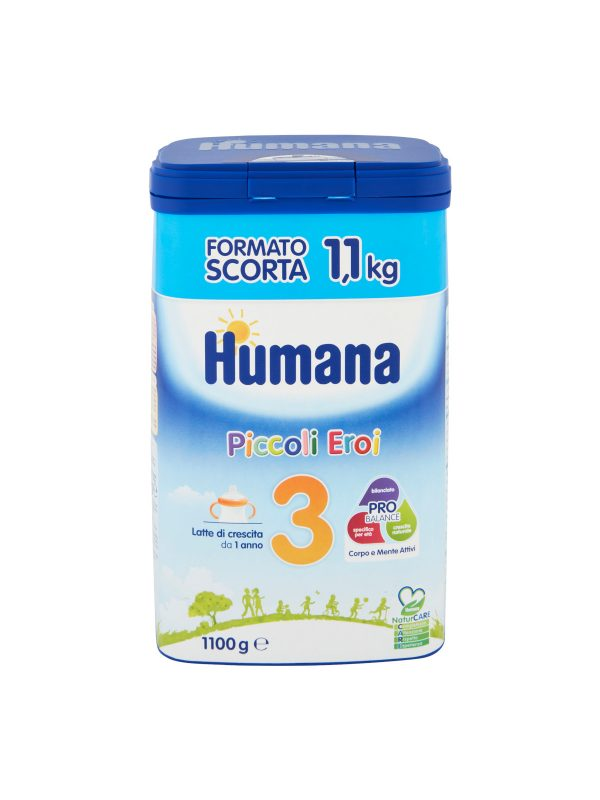 HUMANA 3 Probalance polvere 1100 gr - HUMANA - Latte crescita 3-4-5