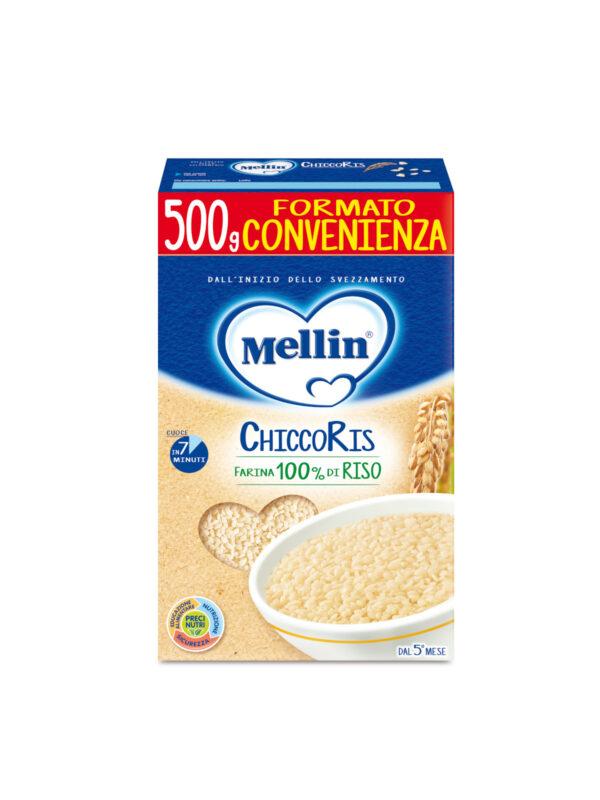 MELLIN - Pastina chiccoris 500 gr - MELLIN - Riso e sughi per bambini