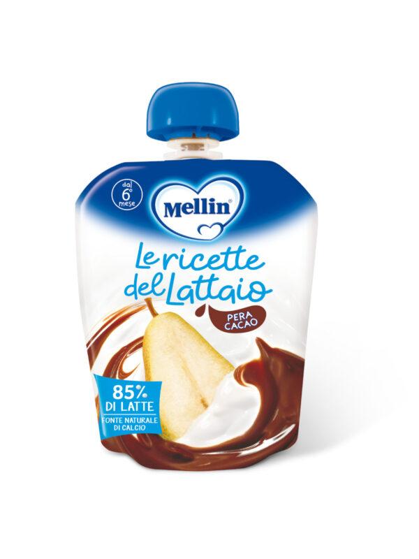 MELLIN - Pouch latte pera cacao 85 gr - MELLIN - Merende da bere