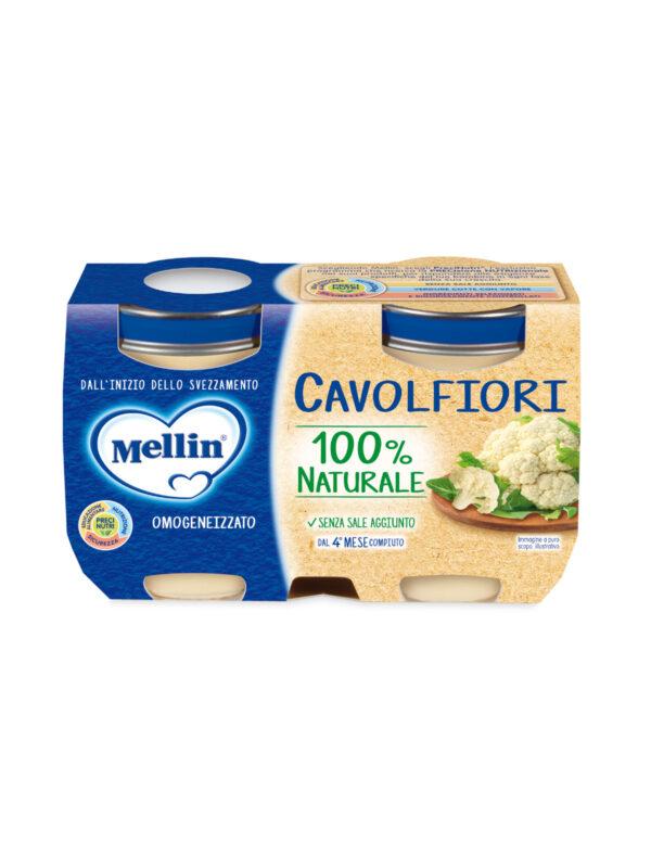 MELLIN - Omogeneizzato verdure cavolfiori 2x125 gr - MELLIN - Omogeneizzato verdure