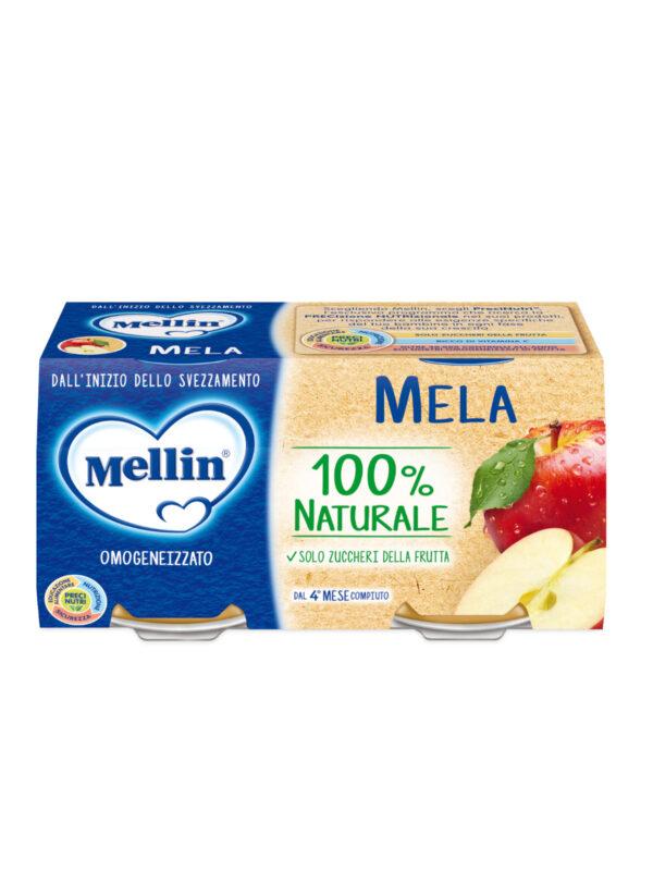 MELLIN Omogeneizzato mela 2x100 gr - MELLIN - Omogeneizzato frutta