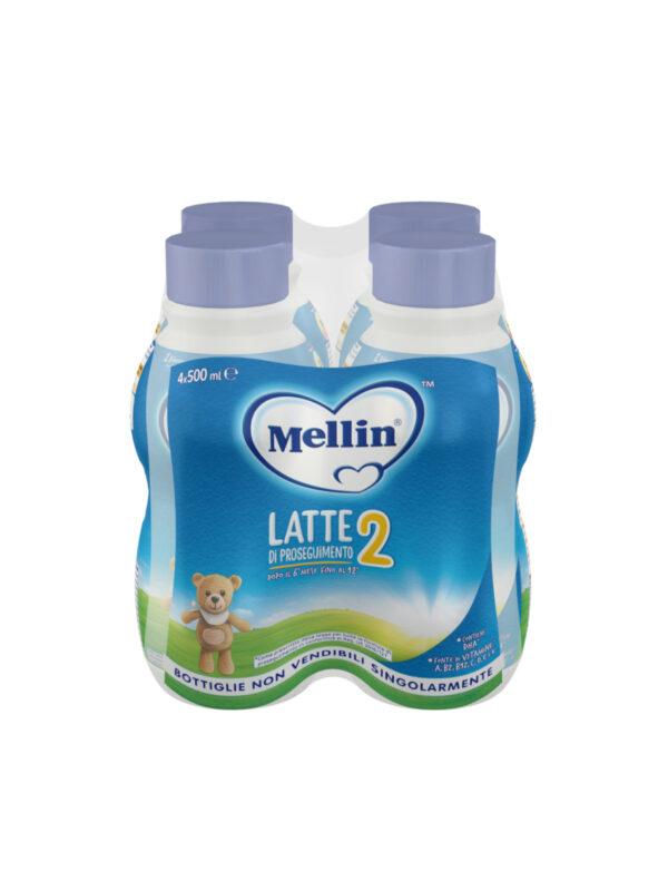 MELLIN - Mellin 2 4x500 ml - MELLIN - Latte 2