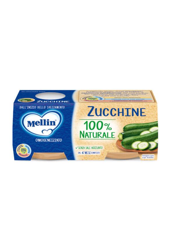 MELLIN Omogeneizzato zucchine 2x80 gr - MELLIN - Omogeneizzato verdure
