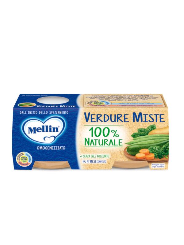 MELLIN Omogeneizzato verdure miste 2x80 gr - MELLIN - Omogeneizzato verdure