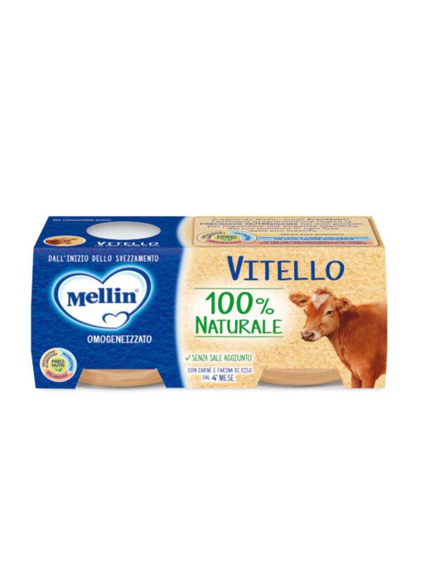 MELLIN Omogeneizzato vitello 2x80 gr - MELLIN - Omogeneizzato carne
