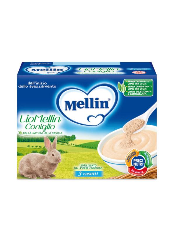 MELLIN Liofilizzato coniglio 3x10 gr - MELLIN - Liofilizzati