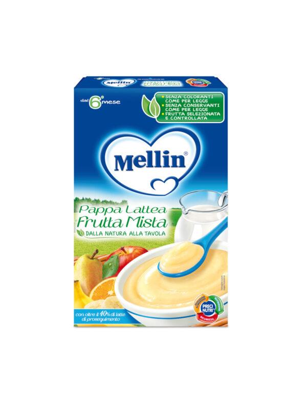 MELLIN Pappa Lattea frutta mista 250 gr - MELLIN - Creme e Pappe Lattee