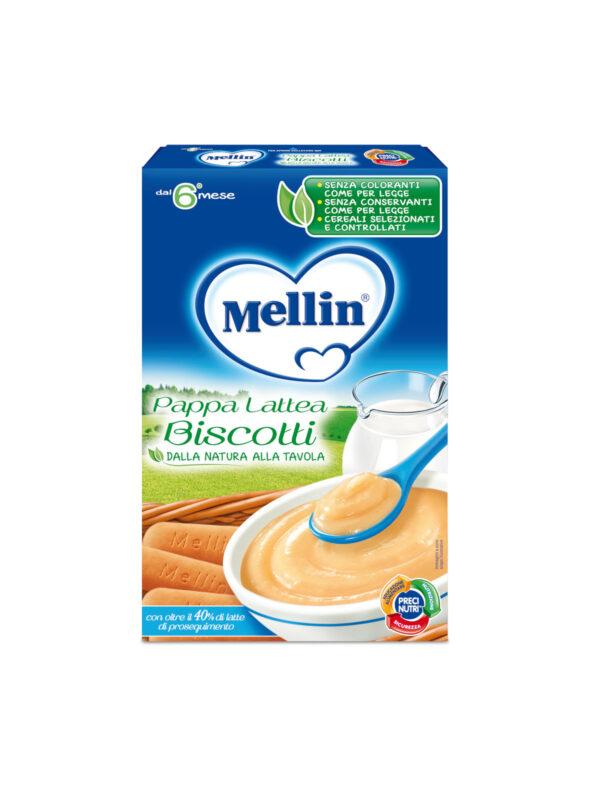 MELLIN Pappa Lattea biscotti 250 gr - MELLIN - Creme e Pappe Lattee