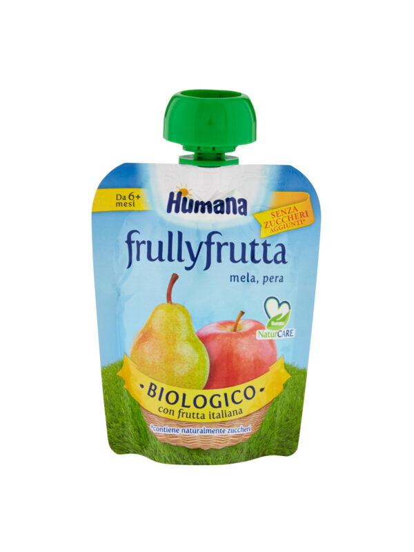 HUMANA FrullyFrutta mela e pera 90 gr - HUMANA - Frutta frullata