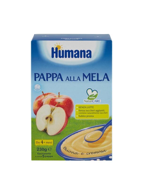 HUMANA Pappa alla mela 230 gr - HUMANA - Creme e Pappe Lattee
